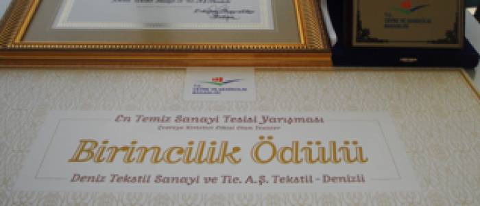 Deniz Textile's Environmental Performance Awarded